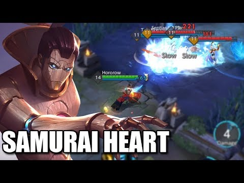 NAMELESS SAMURAI HERO IN WAR SONG WITH HIS AMAZING SWORD SKILLS