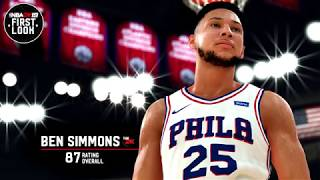 『Chris Smoove中字』NBA2k19 西蒙斯截圖和87評分!(中文翻譯)