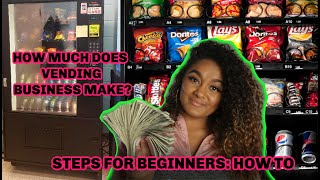 HOW TO START A VENDING MACHINE BUSINESS FOR BEGINNERS: STEPS TO OPEN, HOW MUCH IT MAKES