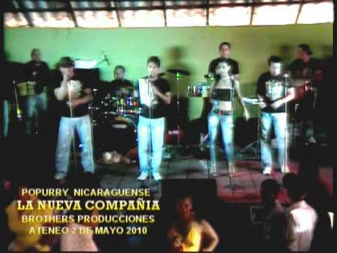 NICARAGUA POPURRY NICARAGUENSE La Nueva Compañia buena.mpg
