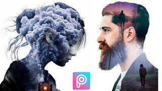PicsArt Double Exposure Effect | PicsArt Editing Tutorial | PicsArt Editing New