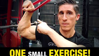 Increase Strength on Barbell Exercises (ONE WRIST EXERCISE!)