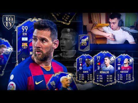 ÚLTIMOS +100 SOBRES PARA SACAR TOTY... *40 MINUTOS* FIFA 20