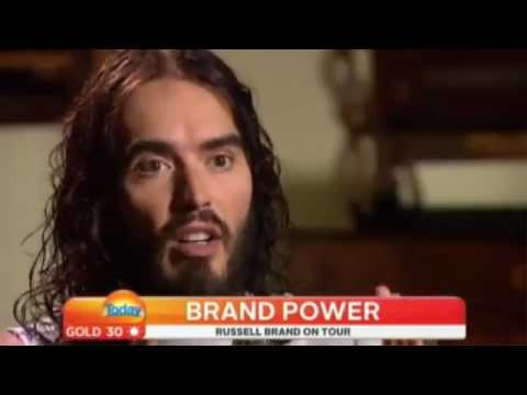 Russell Brand Blowing Minds