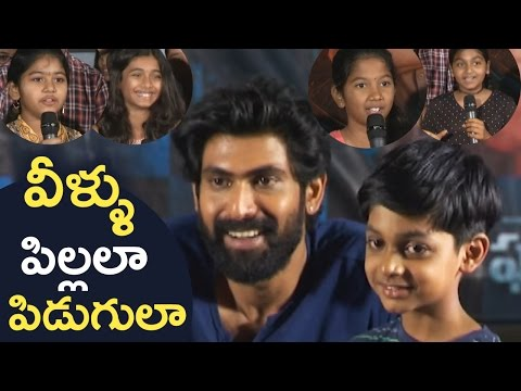 Rana Interacting With Children | Interesting Questions By Children About Ghazi | Super Fun | TFPC