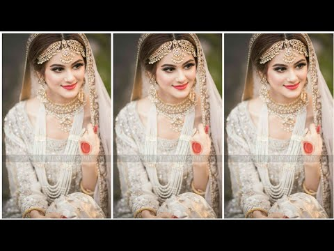 latest-beautiful-walima-bride-look||best-bridal-dress-jewelry-makeup-and-hair-for-wedding-reception