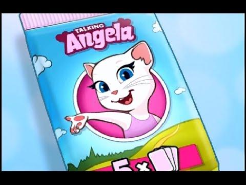 Моя говорящая Анжела – #77 – Детский игровой мультик для детей! Talking Angela