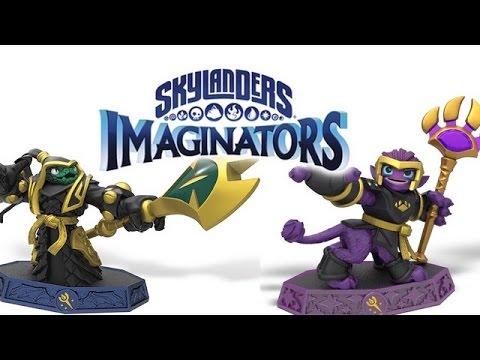 Skylanders imaginators tous les senseis youtube - Tous les skylanders ...