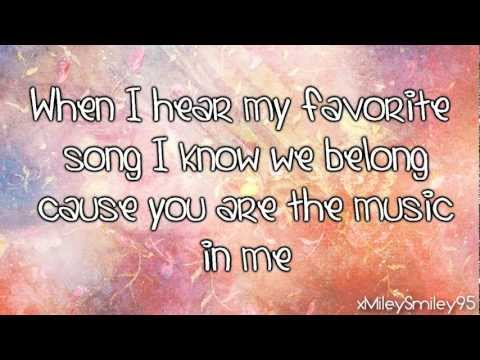 High School Musical 2 - You Are The Music In Me (Sharpay Version) (with Lyrics)