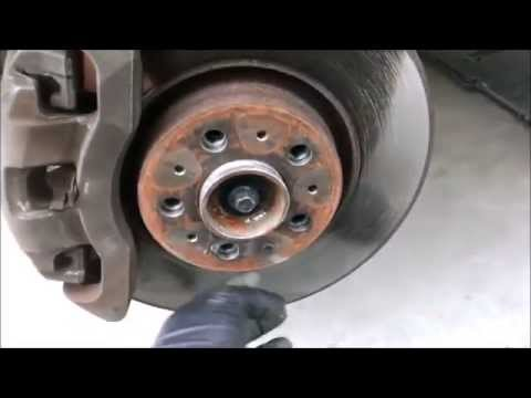 Brake Pad And Rotor Replacement >> 2004 Volvo XC90 Front brake pad and Rotor replacement - YouTube