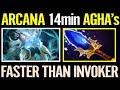 """Nice~ """"14 min"""" Aghanim Faster than INVOKER - Dota 2 NEW Earthshaker Arcana"""