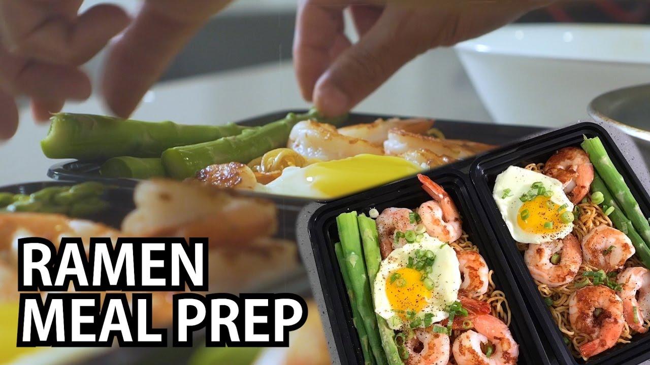 Ramen And Shrimp Meal Prep Youtube