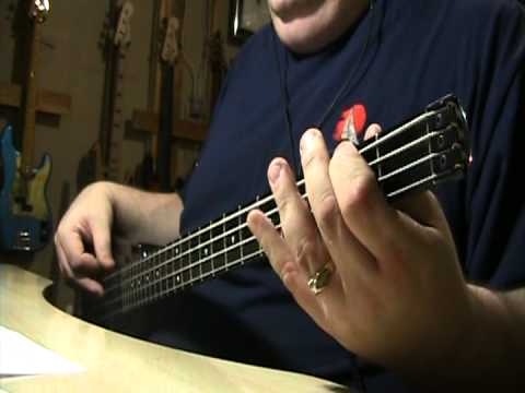 Dixie Chicks Cowboy Take Me Away Bass Cover - YouTube