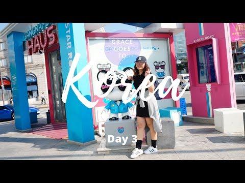 VLOG#11: 🇰🇷 Day3 Free Tourist Spots in SEOUL + Oppa Gangnam + Seoul fashion Week 2017 | Grace A 💙