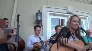 Donna Hughes Plays Bluegrass At The Home Of Richard Childress