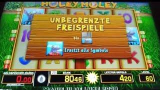 Holey Moley geknallt 👈Moneymaker84 mit Poppi, Merkur Magie, Merkur, Novoline, Gambling, Slots,Win