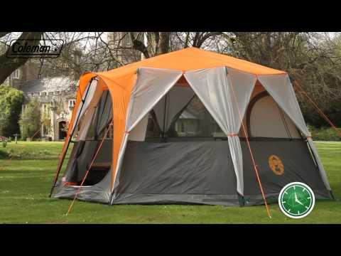 Coleman® Cortes Octagon 8 - Eight person Award Winning Family Tent - EN