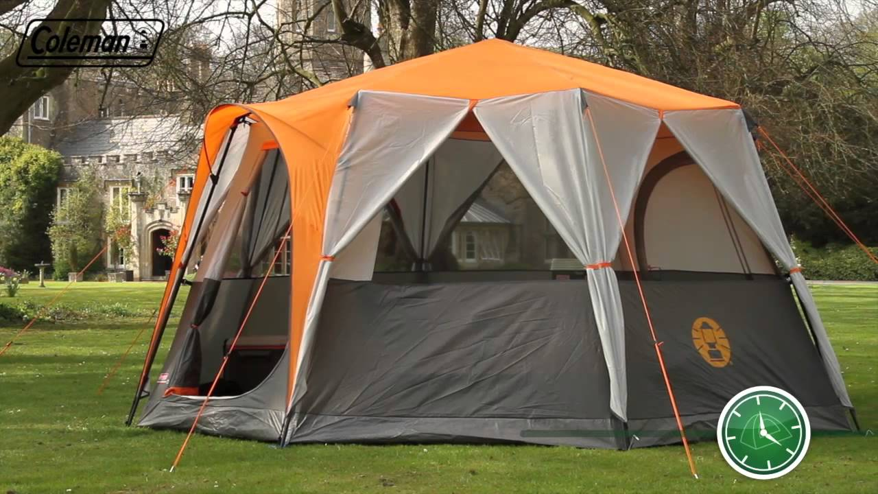 Coleman® Cortes Octagon 8 - Eight person Award Winning Family Tent - EN - YouTube & Coleman® Cortes Octagon 8 - Eight person Award Winning Family Tent ...