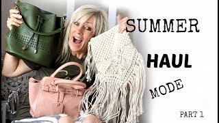 SUMMER HAUL 2017 I Aliexpress I Action I Zara I Jenyfer I Pimkie I Shein I Première partie