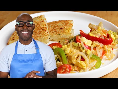 Ackee And Saltfish With Bammy As Made By Karamo And Jason Brown • Tasty