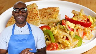Ackee And Saltfish With Bammy As Made By Karamo And Jason Brown