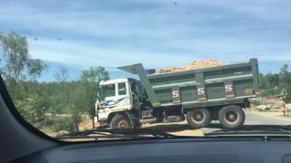 BharatBenz vs AMW 6x4 dump trucks