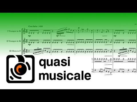 """Gabriel's Oboe"" (Ennio Morricone) Arr. Adrian Wagner - Clarinet Choir (Sheet Music) Arrangement"