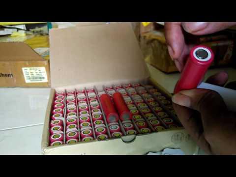 Unbox Baterai LG HE2 LGDBHE21865 2500mAh 20A