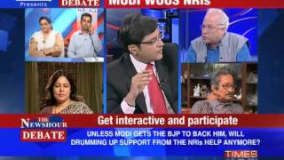 The Newshour Debate: Will Narendra Modi stand up without BJP backing? (Part 1 of 2)