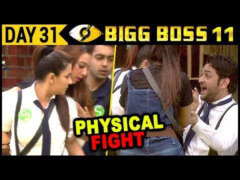 Vikas Gupta Gets PHYSICAL With Shilpa Shinde | Bigg Boss 11 | Episode 32 | 1st November 2017 Update.