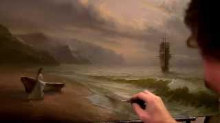 Морской пейзаж . Александр Южаков