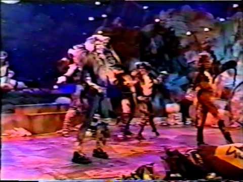 Cats - The Rum Tum Tugger (John Partridge) - UK Tour 1994/95