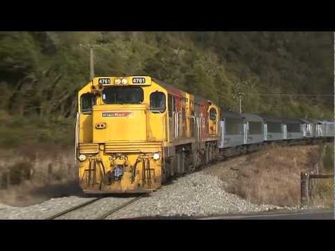 Thumbnail: Spectacular train footage from NZ's Midland line
