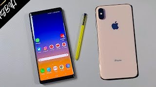 Samsung Note 9 vs iPhone Xs Max | Why ONLY iPhone Is Worth it!