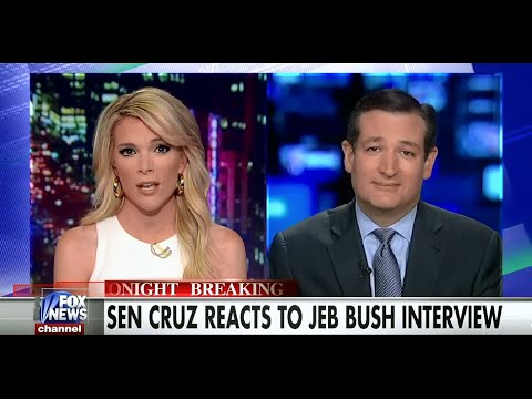 • Ted Cruz on Jeb Bush, Immigration, and Common Core • Kelly File • 5/12/15 •