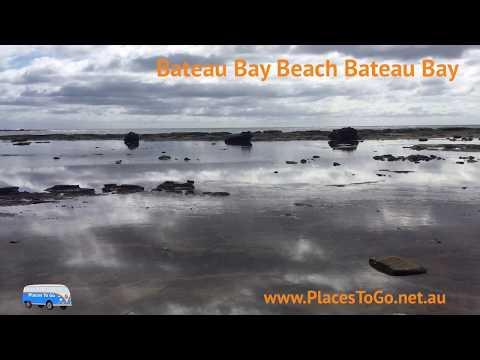 Watch the relaxing ocean waves shimmer Bateau Bay Beach Bateau Bay   PlacesToGo