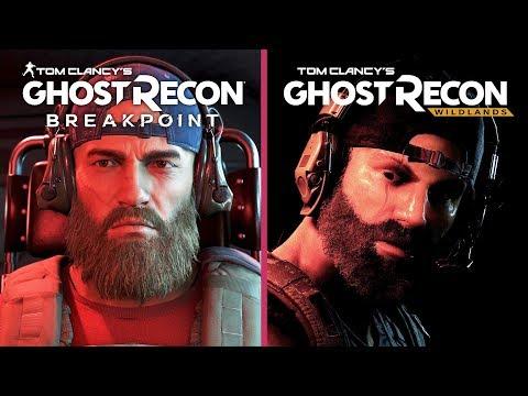Ghost Recon Breakpoint vs. Wildlands Alpha Gameplay Graphics Comparison
