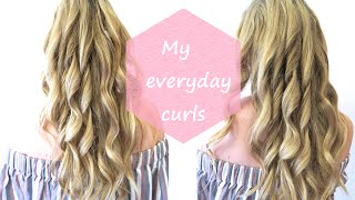 Hair tutorial: My everyday curls with Remington Pro Curl