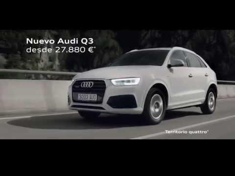 Anuncio Audi Q3 2016