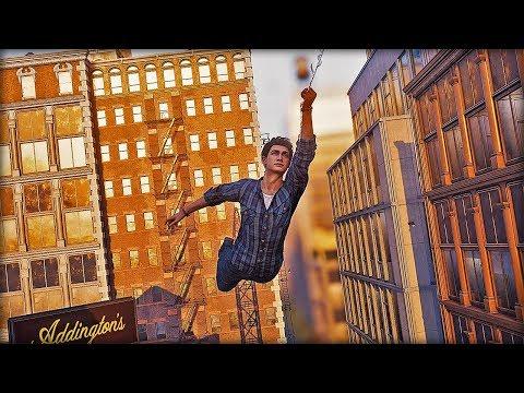 Spider-man PS4 Peter Parker Free Roam Mission - Silver Lining DLC