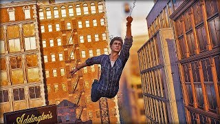 Spider-man PS4 Peter Parker Free Roam Mission - Silver Lining DLC