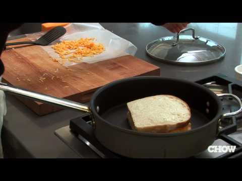 BJ the DJ - How to Make A Proper Grill Cheese Sandwich