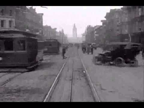 Ride Cable Car in Old San Francisco 1906 Music Airs Le Femme Dargent  Grafton Reed