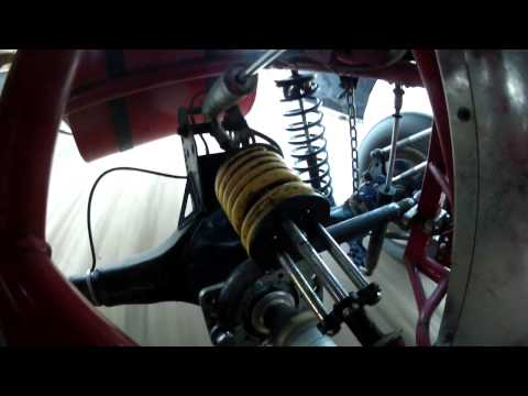 Larry Saw Modified Rear Suspension 4-link POV