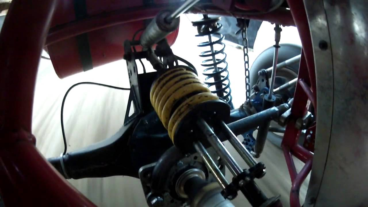 Larry Shaw Modified Rear Suspension 4-link POV