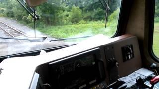csx ac4400cw inside the cab