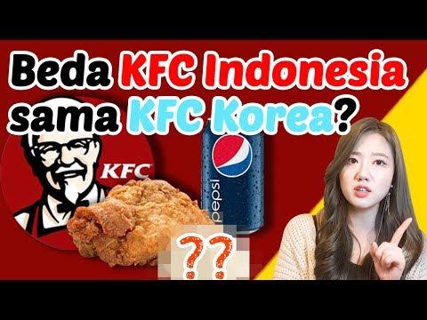 Yang Ada Di KFC Indonesia Tapi Gak Ada Di KFC Korea?!_인도네시아 KFC에는 있는데 한국 KFC에는 없는 것
