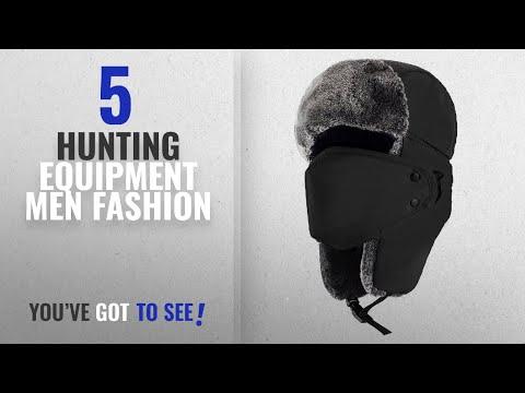 Top 10 Hunting Equipment [Men Fashion Winter 2018 ]: Mysuntown Unisex Winter Trooper Hat Hunting Hat