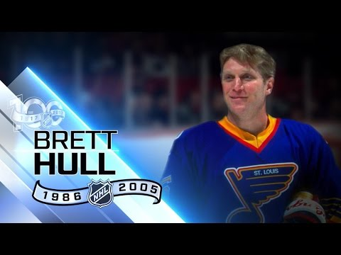 Brett Hull fourth leading goal-scorer in NHL