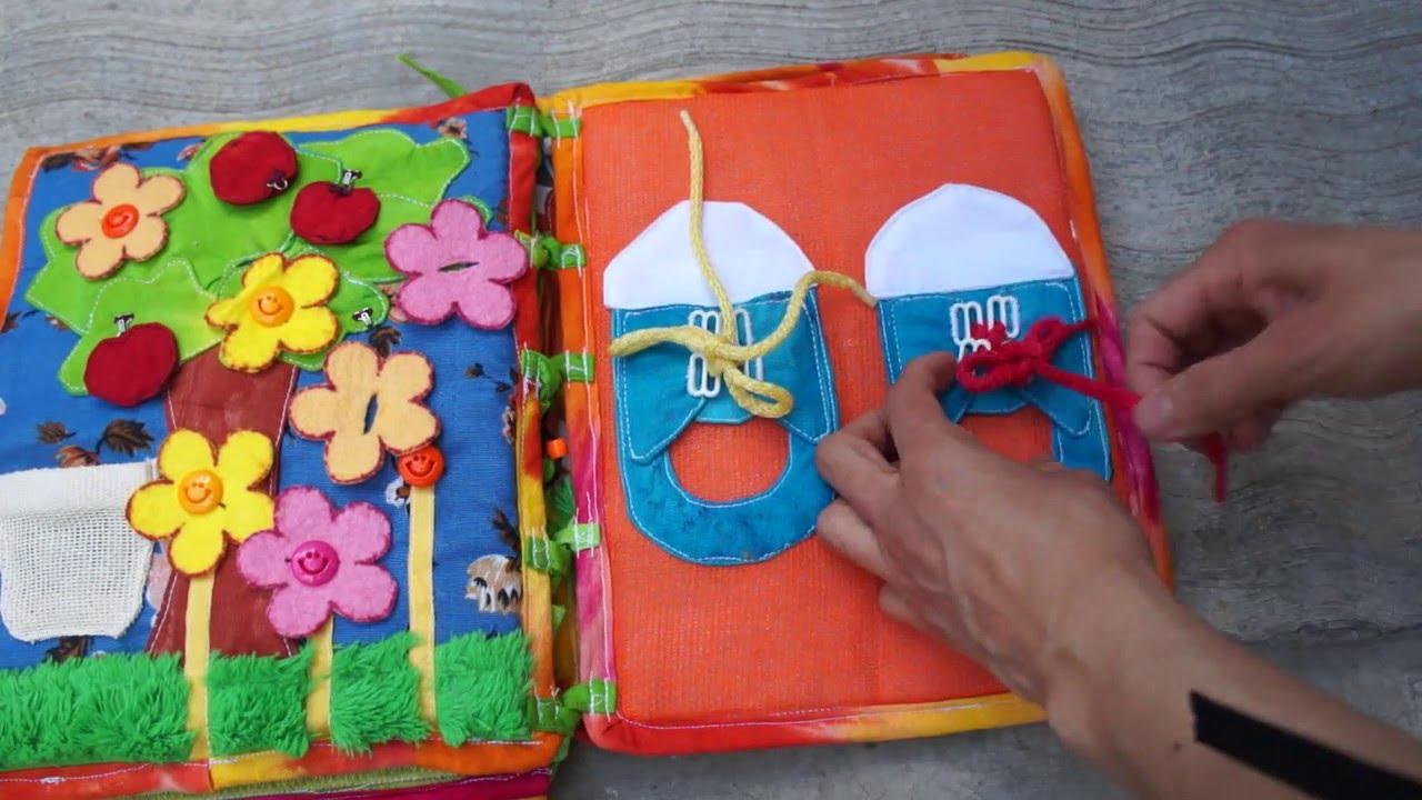 libros para ninos hechos en tela
